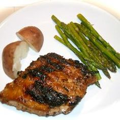 The Ultimate Marinade... very good on steak.  Save leftover marinade, pour it into a pan and simmer until reduced to a sticky glaze and pour back over your meat to serve.
