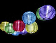 lampen , lampionnen , licht , bv