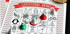 Printable Christmas Bingo – 100 Days of Homemade Holiday Inspiration (Hoosier Homemade) Family Christmas Party Games, Christmas Bingo Game, Christmas Activities For Families, Xmas Games, Christmas Crafts For Kids, Christmas Fun, Christmas Decorations, Family Games, Fun Games
