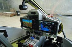 Cockpit do Vulcanair Observer