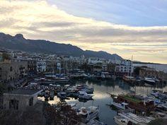 Girne Kalesinden Girne Limanı