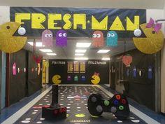 decorate school hallway challenge   ... Hallway, Senior Hallway Decorations, Senior Hall Decorations, Hallways
