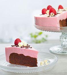 Kakeoppskrifter | Freia Hjemmekonditori Pudding Desserts, Mousse, Brownies, Nom Nom, Cake Recipes, Cheesecake, Food And Drink, Baking, Snacks