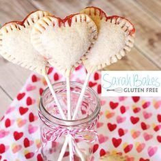 Vegan Gluten-Free Heart Pie Pops | Sarah Bakes Gluten Free