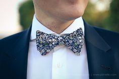 costume bleu - nœud de papillon liberty