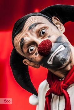 Photograph Red Clown de Stanislav Novak 500px