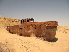 desert shipwrecks