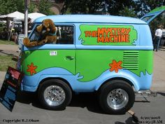 Scooby Doo Mystery Machine Micro VW Bus