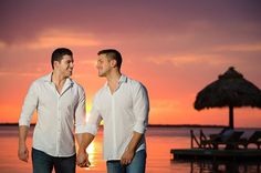 Gio Benitez and Tommy DiDario --   Arrived in Key Largo and had an amazing pre-wedding photoshoot with the brilliant photographers from @studiotwoweddings. Cannot wait to say I Do to this guy in 2 days ❤️ #TheLoveStoryofTG