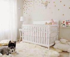 One Room Challenge Week Four: Nursery Makeover- The Glam Pad