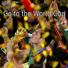 Bucket list: go to the world cup and cheer on my favorite team!