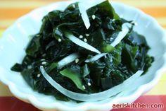 Sea Mustard ChoMuChim | Aeri's Kitchen | Cooking Korean Recipes & Food