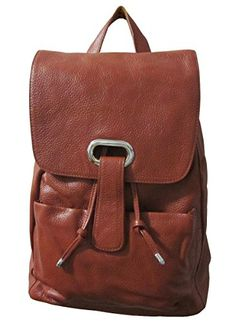 AmeriLeather Miles Backpack Brown *** You can get more details by clicking on the image.