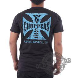 West Coast Choppers Tshirt Size XL Vintage Custom by OLDKULTURE, $21.99