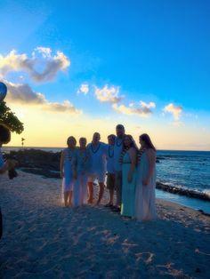 Amazing night for a vow renewal. Kona Beaches, Kona Coast, Beach Weddings, Hawaii Wedding, Big Island, Vows, Hawaiian, Night, Simple