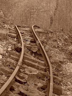 ...tracks of past