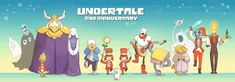 Happy 2nd Anniversary Undertale by AllesiaTheHedge