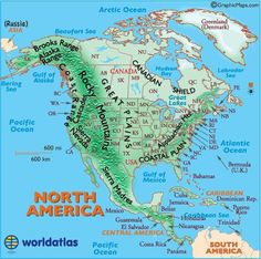 Map of Ontario World Map North America Canada Ontario