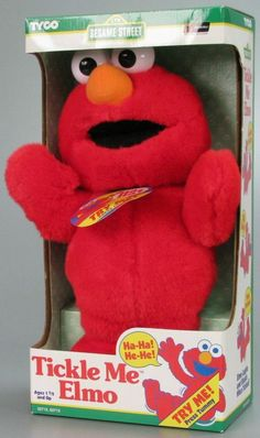 31 Awesome Toys You Never Got, But Can Totally Buy Today -- I did get this Tickle Me Elmo when I was like it was my absolute favorite. 90s Toys, Retro Toys, Vintage Toys, Retro Games, 90s Childhood, Childhood Memories, Childhood Photos, Sweet Memories, 90s Cartoons