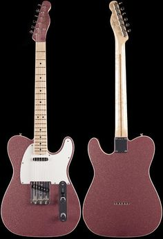 """Incredible new Fender Custom Shop Tele in a rare Champagne Sparkle finish. This one is definitely a head-turner!Specs include:•Double Bound Lightweight Alder Body•AA Birdseye Maple Neck•Extreme """"V"""" Neck Carve (.820-.900"""")•9.5"""" Radius•6105 Frets•Matching Headstock•Vintage Hardware•..."""