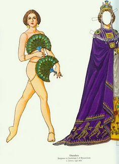 Great Empresses and Queens Paper Dolls (Tom Tierney) - - Picasa Web Albums Paper People, Fashion Designer, Vintage Paper Dolls, Media Images, Dollhouse Dolls, Fashion Sketches, Doll Clothes, Retro Vintage, Toms