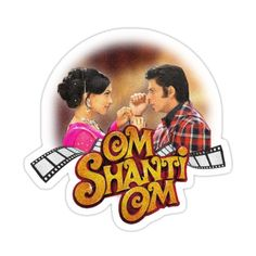 Awesome Movies, Good Movies, Om Shanti Om, Shahrukh Khan, Deepika Padukone, Flasks, Sticker Design, Top Artists, Sell Your Art