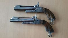 Online veilinghuis Catawiki: 19th Century Pinfire Pistol with Bayonet