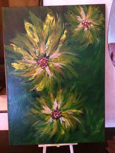 Création peinture acrylique