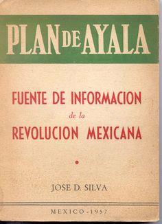 El general Emiliano Zapata, junto con Otilio Montaño y otros colaboradores, redactaron el Plan Libertador de los hijos del Estado de Morelos, o Plan de Ayala. Para explicar el porqué de su determinación de combatir al presidente Madero.