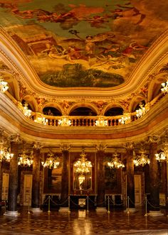 Teatro Amazonas (Amazon Theater) - Manaus, Amazonas, Brazil. One of my favorite places in the whole city...