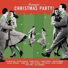 Swinging 40s Christmas Party! lol i just added a pandora station similar to this