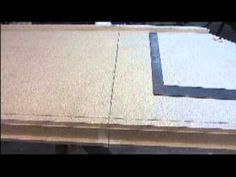 How To Apply Amp Cut Laminate Countertop End Cap Kitchen