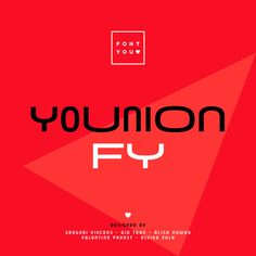New font YOUNION FY on Typography Served