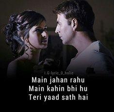 Old Song Lyrics, Song Lyric Quotes, Music Lyrics, Movie Quotes, Bollywood Love Quotes, Love Quotes In Hindi, Best Love Quotes, Maya Quotes, Filmy Quotes