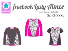Lady Aimee, Kreativ-FREEbook - farbenmix Online-Shop - Schnittmuster, Anleitungen zum Nähen