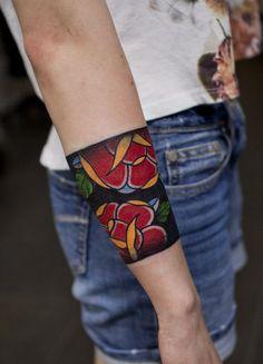 Cuff tattoo: