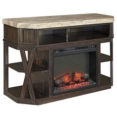 Radilyn | Fire Place TV Stand – Adams Furniture