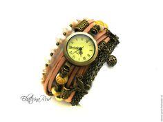 """Assista artesanal.  Mestres Fair - feito à mão.  Compre relógios elegantes """"Sands of Time"""" com pedras.  Handmade."""
