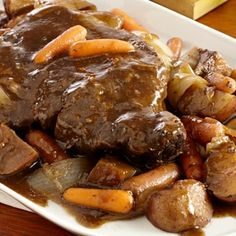 Slow Cookers Red Wine Pot Roast Recipe