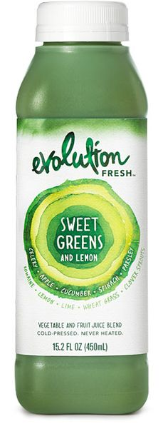 Sweet Greens and Lemon Juice - green smoothie that is only 40 calories! Saw it in starbucks.