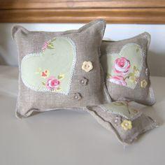 heart lavender bags