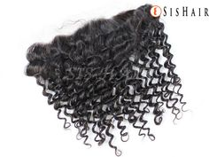 7A Brazilian Virgin Hair 13×4″ Lace Frontal Closure Curly