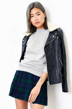 Project Social T Shrunken Sweatshirt - Urban Outfitters