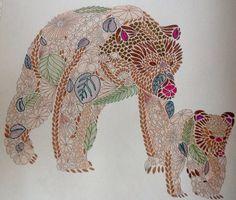 Millie Marotta dierenrijk kleurboek Ik zag twee beren