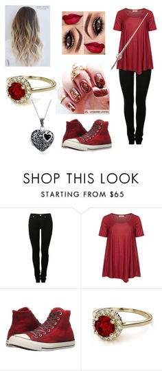 """""""Alex Black Finding the Sorcerers Stone"""" by isabella31w ❤ liked on Polyvore featuring MM6 Maison Margiela, Isolde Roth, Converse and Bling Jewelry"""