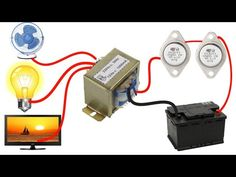 In this video I will show you how to make simple inverter at home . You need 12 0 12 1 Amp Resistors 330 ohm Electronics Mini Projects, Electronic Circuit Projects, Hobby Electronics, Electrical Projects, Electrical Tools, Simple Electronic Circuits, Mechanical Engineering Design, Electronic Cards, Electrical Circuit Diagram