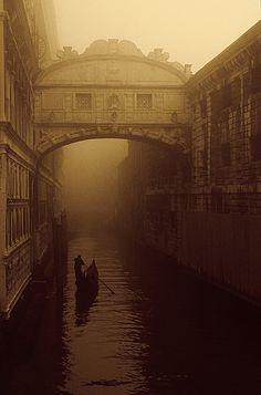 The Bridge of Sighs - Venice