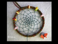 Making a dream catcher is very easy, tho is a stop by step project for kids