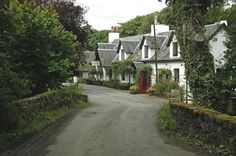 Ardeonaig Hotel on the banks of Loch Tay in Highland Perthshire, Scotland