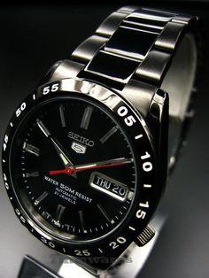 Seiko 5 50M Automatic Men's Watch Black-tone SNKE03K1...always a classic